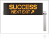 Success Next Exit Sign